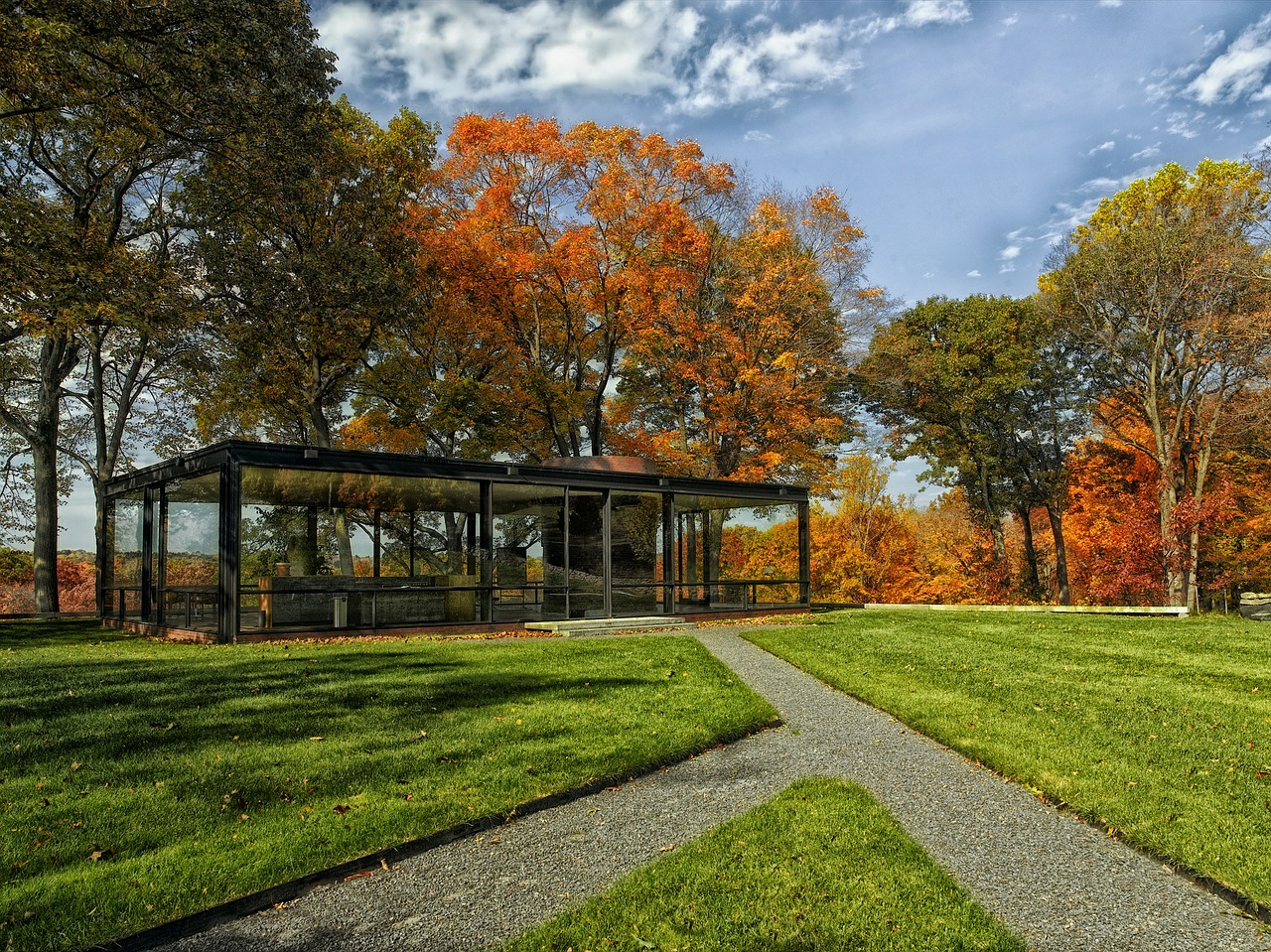 philip johnson glass house 397833 1280
