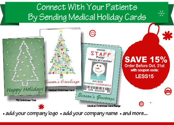 Christmas cards for doctors ziti cards blog part 2 save 15 on medical christmas cards m4hsunfo