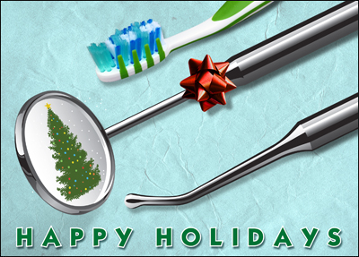 dental holiday card l
