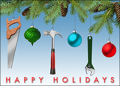 handyman holiday card l