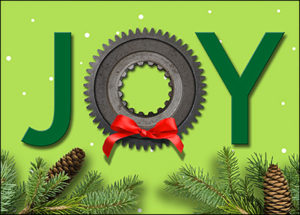 mechanical engineering greeting card