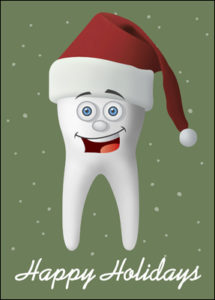 holiday molar card