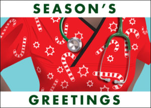 Nursing Holiday Card