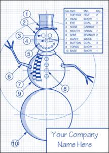 engineering snowman