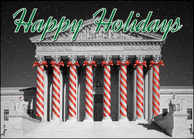 attorney holiday card l