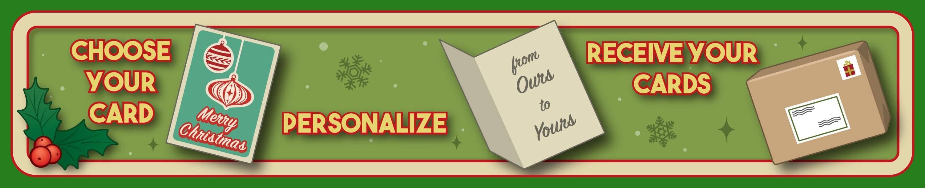 Personalized Business Christmas Cards.Custom Company Corporate Christmas Cards Ziti Cards