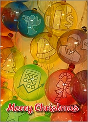 Accounting Glass Ornaments