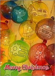 Automotive Glass Ornaments