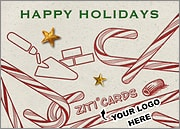 Bricklayer Logo Candy Canes