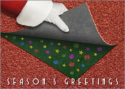 Carpet Installer Holiday Card