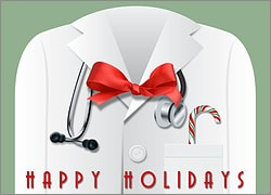 Christmas Card for Doctors