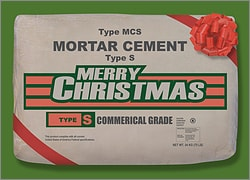 Christmas Cement