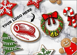 Christmas Logo Cookies