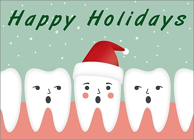 Christmas Teeth (Glossy White)
