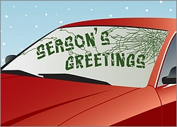 Christmas Windshield Repair