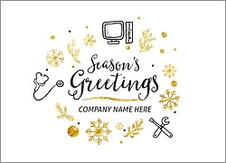 Computer Sales Christmas Card