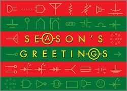 Electrical Engineer Holiday Card