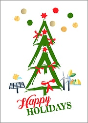 Energy Tree Holiday Card