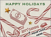 Financial Logo Candy Canes