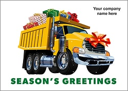 Gift Loader Christmas Card