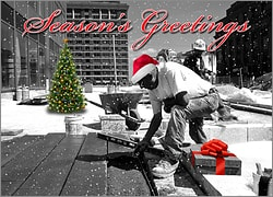 Laborers Greeting Card