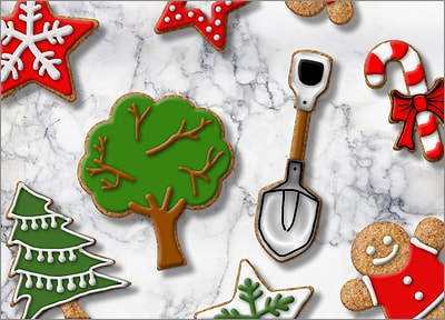 Landscaping Cookies (Glossy White)