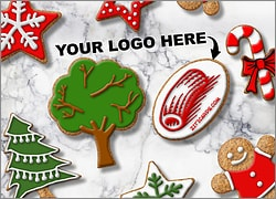 Landscaping Logo Cookies