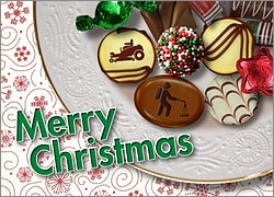 Lawn Care Christmas Candy Card