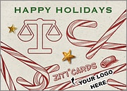 Legal Logo Candy Canes