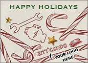 Mechanic Logo Candy Canes