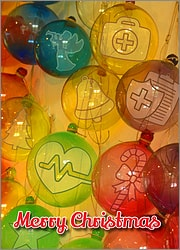 Medical Glass Ornaments
