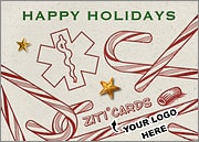 Medical Logo Candy Canes