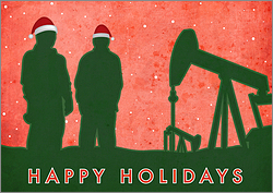 Petroleum Christmas Card