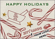 Pharmacy Logo Candy Canes