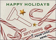 Plumber Logo Candy Canes