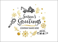 Towing Icons Holiday Card