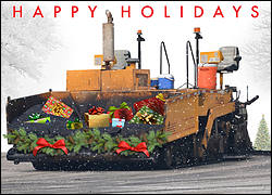 Asphalt Christmas Card