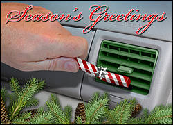 Auto Detailing Holiday Card