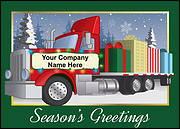 Big Rig Christmas Card