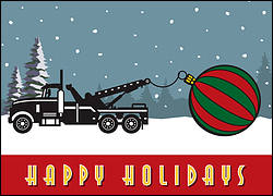 Christmas Tow Truck