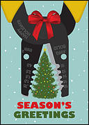 Electrical Business Christmas Card