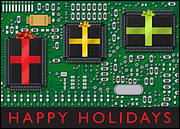Electronic Christmas Card