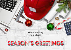 Engineering Tools Christmas Card