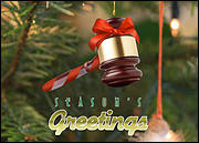 Gavel Ornament
