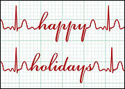 Happy Holidays EKG
