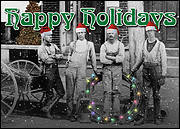 Holiday Card Linemen