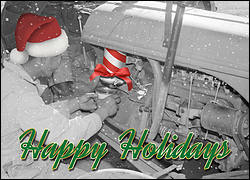 Holiday Engine Maintenance