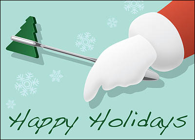 Holiday Hammer (Glossy White)
