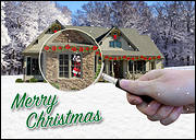 Home Inspection Christmas Card