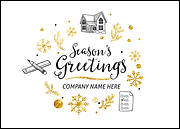 Home Inspectors Holiday Card